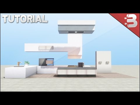 Minecraft Modern Kitchen Tutorial