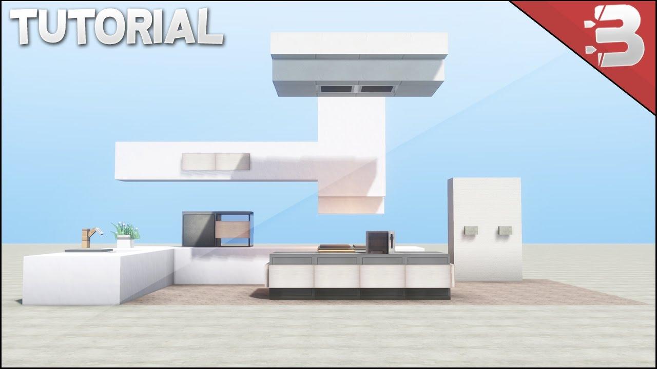 Minecraft Modern Kitchen Tutorial