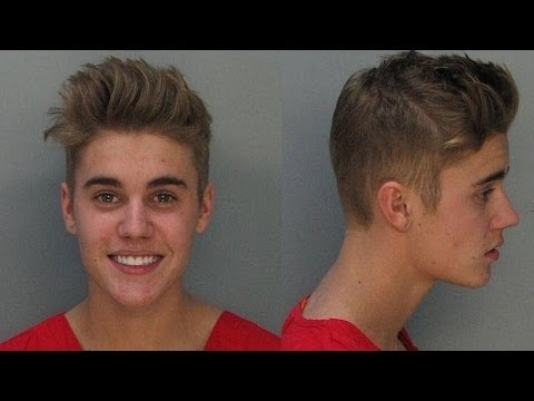 Justin Bieber Arrested For DUI, Drag Racing, Expired License - VIDEO