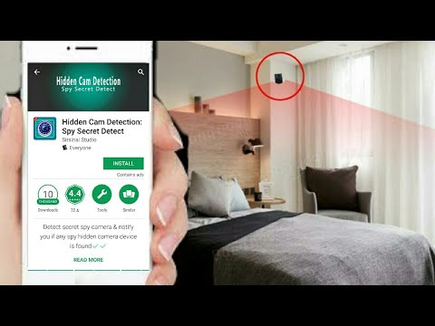 Find Secret Hidden Spy Camera's Anywhere With Your Smartphone Or Tablet And  This App