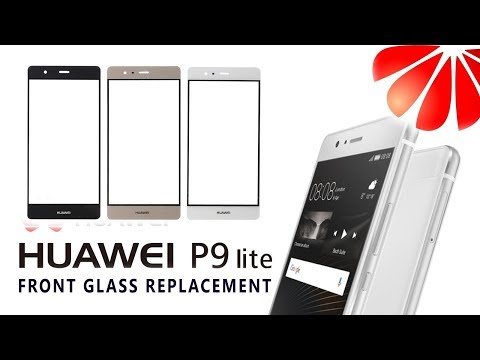 DIY Huawei P9 Lite VNS-L21 Glass Only Digitizer Replacement Tutorial / Wymiana Samej Szybki | Selekt