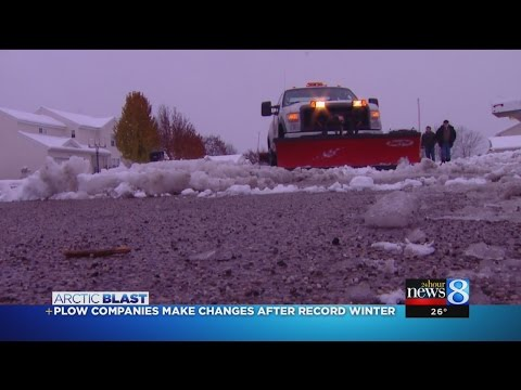 Plow Companies Make Changes After Record Winter