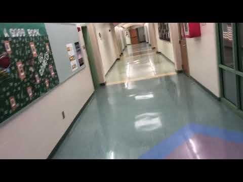 Hydraulic thyssenkrupp elevator at mason intermediate elementary school in mason Ohio part 2