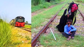 Shaitan ki Chal New Video   Shaitan Vs Train   Hindi Kahaniya For Kids