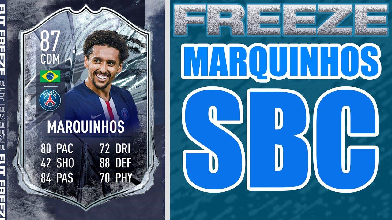 Marquinhos FUT Freeze SBC - FIFA 21   Squad Build Challenge   FUTIcon