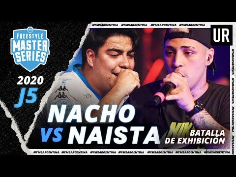 NACHO vs NAISTA (Batalla de Exhibición) | #FMSARGENTINA 2020 – Jornada 5 | Urban Roosters