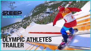 Steep: Road to the Olympics - Olympic Athletes - Take The Journey | Trailer | Ubisoft [US]