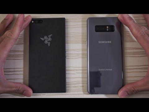 Download Youtube: Razer Phone vs Galaxy Note 8 - Speed Test! (4K)