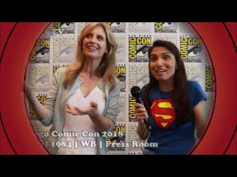 EXCLUSIVE:  with Helen Slater  Supergirl 1984 Blu Ray