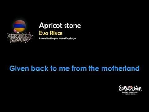 """Eva Rivas - """"Apricot Stone"""" (Armenia) - [Karaoke version]"""