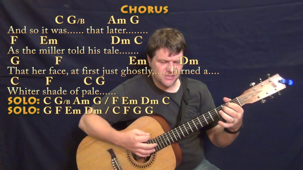 Whiter shade of pale procol harum strum guitar cover lesson in c whiter shade of pale procol harum strum guitar cover lesson in c with chordslyrics hexwebz Choice Image