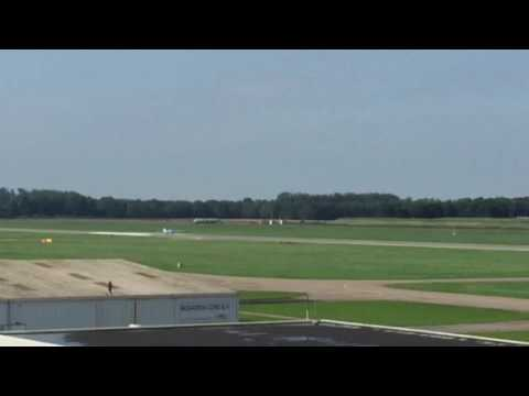 Departure Slingsby T67C (PH-SGB) from EHLE in Nederland