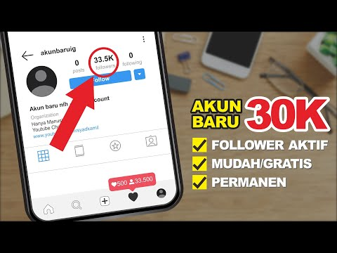 CARA MENAMBAH FOLLOWER INSTAGRAM AKTIF 30K