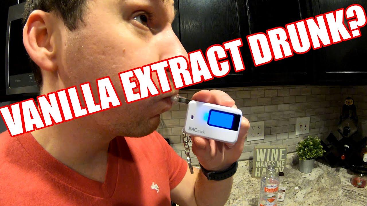 Vanilla Extract Drunk Alcohol In Vanilla Extract Youtube