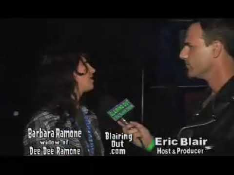 Dee Dee Ramone's widow Barbara Ramone talks about The Ramones with Eric Blair