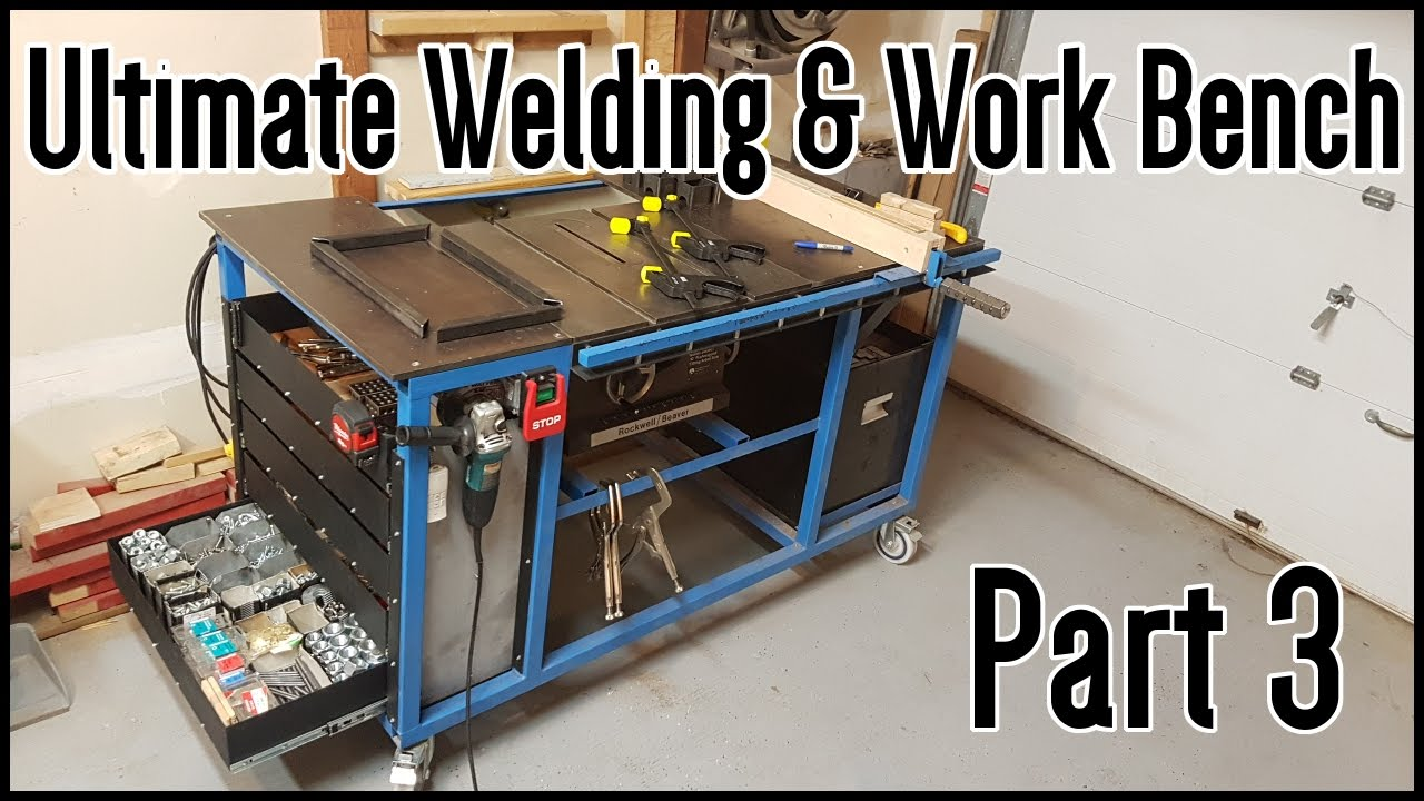 Ultimate Welding Amp Work Table Part 3 Youtube