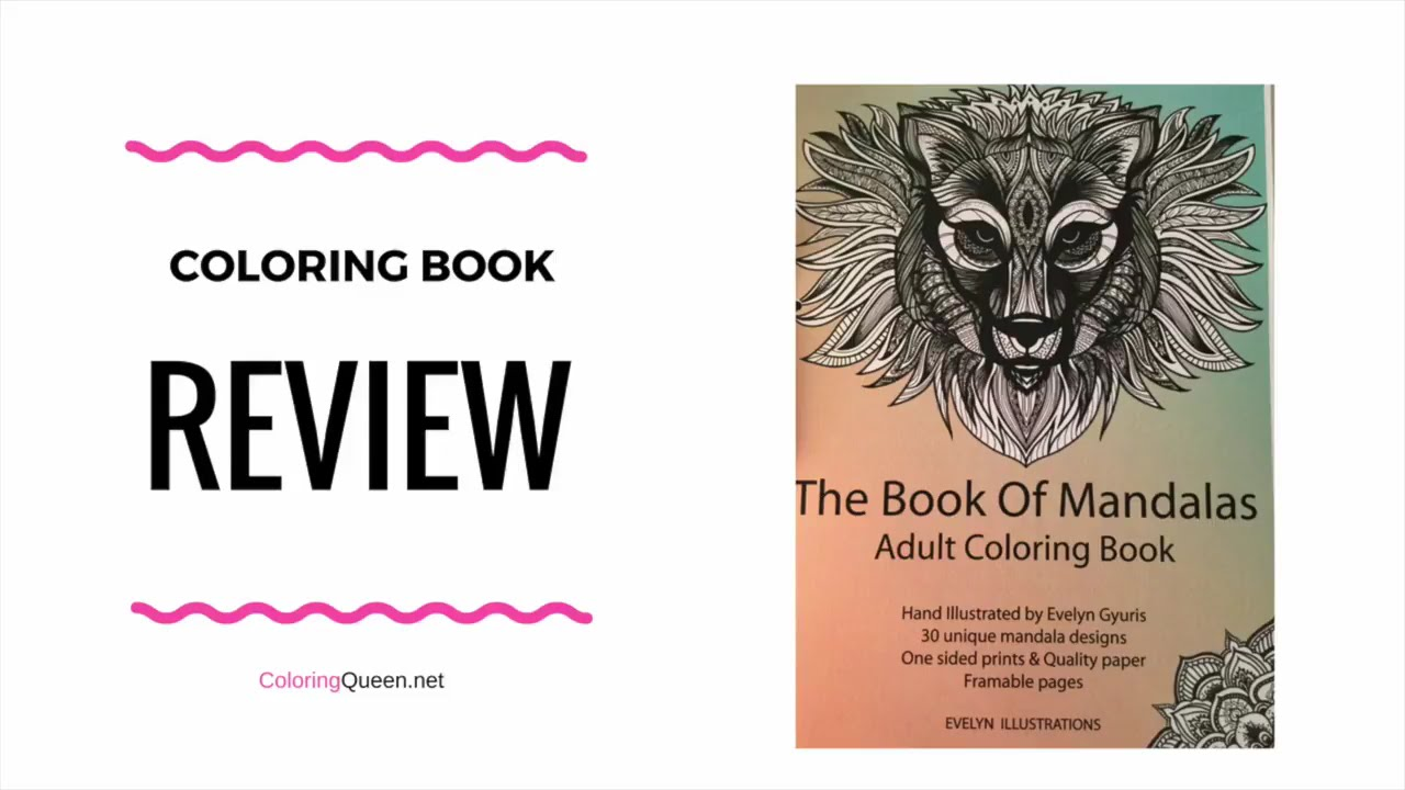 The coloring book analysis - The Book Of Mandalas Coloring Book Review Evelyn Gyuris