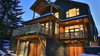 Modern & Rustic Fusion in Banff, Alberta, Canada