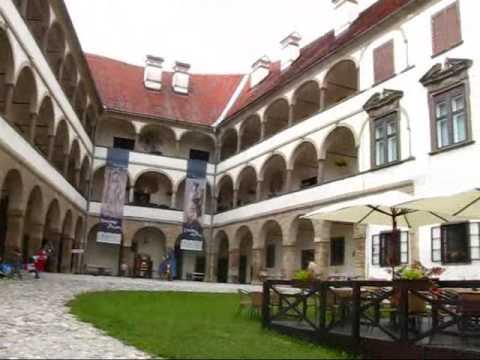 Slovenia Travel: Interior Courtyard of the Castle of Ptuj
