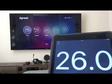 Egreat A10 boot under 26 secondes