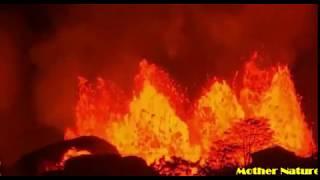 Erupting volcano in hawaii || volcano eruption yellowstone || erupting volcano today