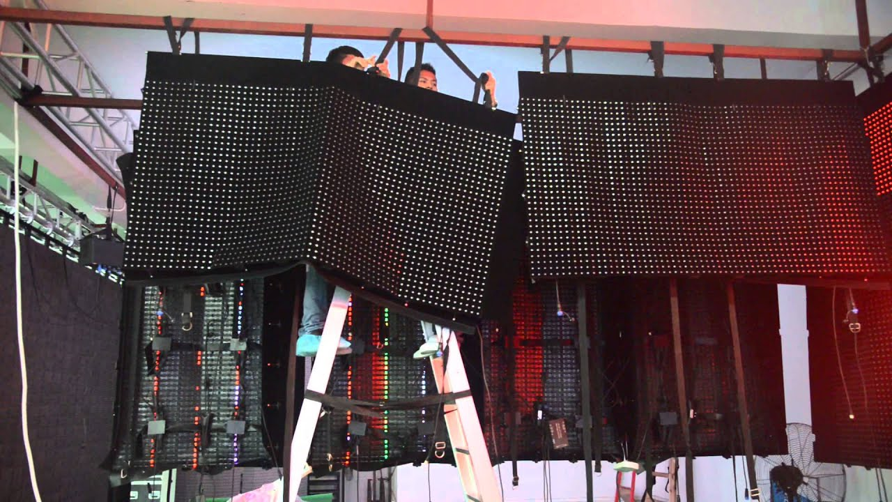 Flc 1000 P30 Flexible Led Display Led Mesh Big Size