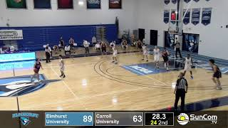 Elmhurst Men's Basketball vs Carroll University - March 6, 2021