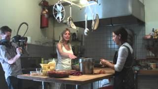 Un honneur de cuisiner une soupe avec Bonnie!!
