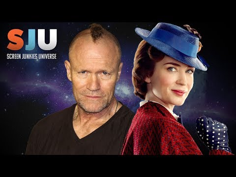 Michael Rooker Reacts To New Mary Poppins!  SJU