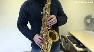 How to play Wind of Change by the Scorpions on Saxophone (Saxophone lesson BC411)