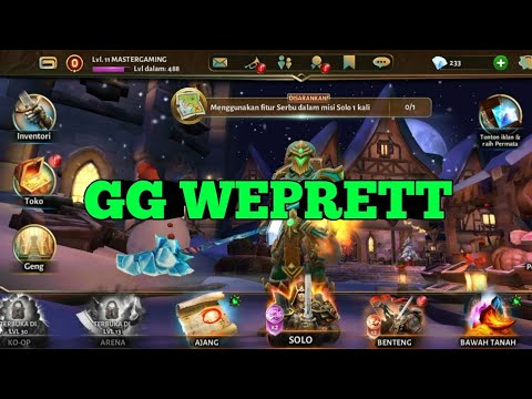 DUNGEON HUNTER 5 GAME PLAY   ANDROID