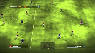 MANCHESTER UNITED V CHELSEA CHAMPIONS LEAGUE FINAL 2008 FIFA 08 GAMEPLAY