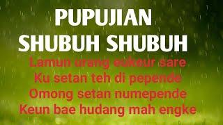 Download Mp3 Pupujian Sebelum Shalat Shubuh  Sunda