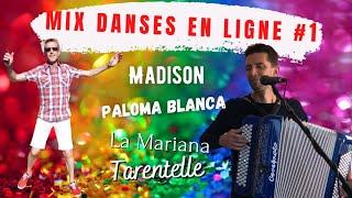 MIX LINE DANCE Classics Benjamin DURAFOUR : Madison, Paloma Blanca…! avec Patrice Passion Danse