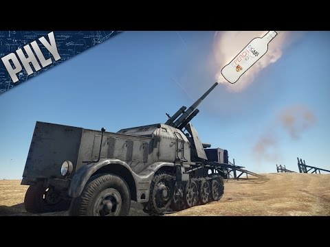 FLAK 88MM -  Schnapps Infused DESTRUCTION (War Thunder Tanks Gameplay)