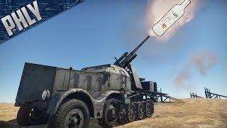 FLAK 88MM -  Schnapps Infused DESTRUCTION (War Thunder Tanks Gameplay)