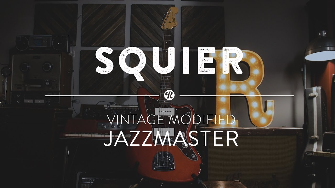 Squier Vintage Modified Jazzmaster Electric Guitar Reverb Demo Strat Pickup Wiring Video Youtube