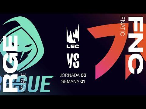 ROGUE VS FNATIC | LEC Summer split 2021 | JORNADA 3  | League of Legends