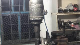 Шлифовка станины и устройство перемещения шлифприспособы