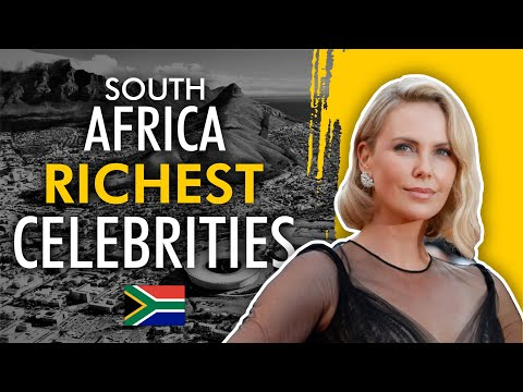 Richest actor/actress in south africa