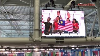 Malaysia win historic gold at aquatics world championships