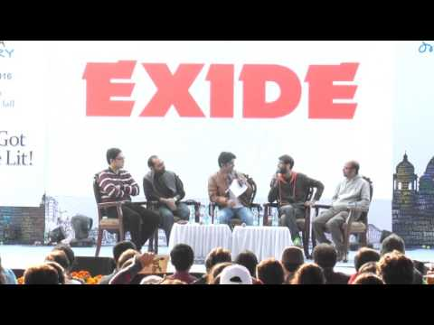 Anupam Roy, Chandril, Anindya, Srijato at Kolkata Literary Meet 2016