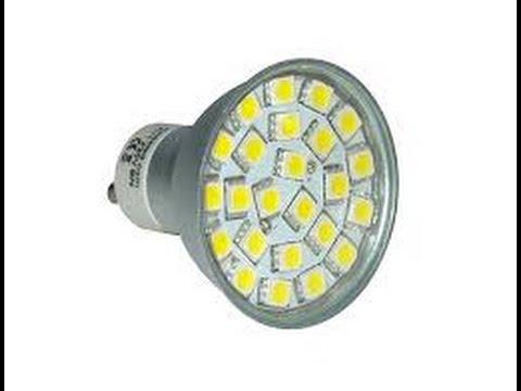 Como cambiar bombillas halogenas a led youtube - Bombillas halogenas led ...