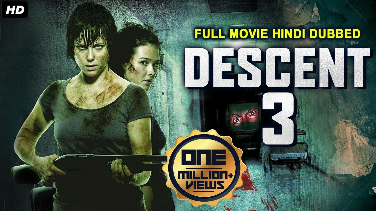 DESCENT 3 - Hollywood Movie Hindi Dubbed | Hollywood Horror Action Movies In Hindi Dubbed Full HD