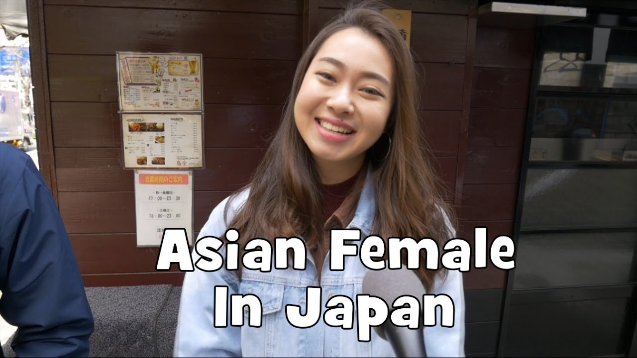 Of asian woman being