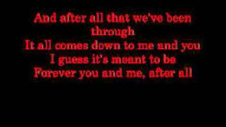 Cher & Peter Cetera - After All [On-Screen Lyrics]