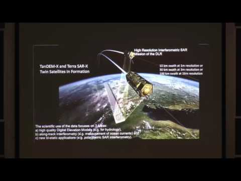 Remote sensing using active RaDAR and LiDAR for hydrologic -