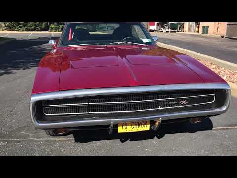 1970 Dodge Charger RT 440 5 Speed Pistol