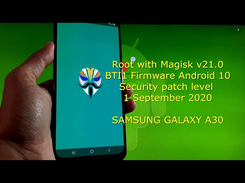 How to Root Samsung Galaxy A30 BTI1 Firmware with Magisk v21.0 - Android 10