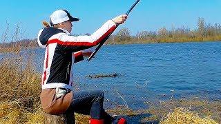 Рыбалка с удочкой на реке в апреле. Кто открыл сезон?
